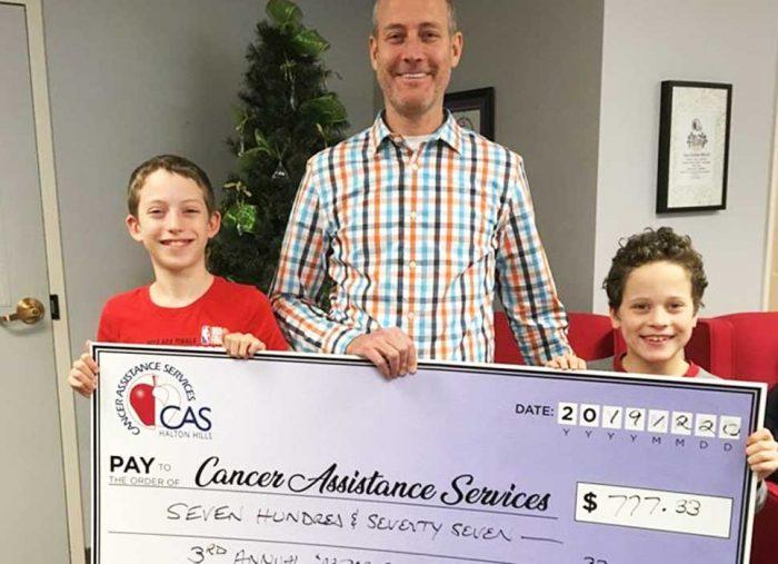 McMurray Family raises money singing!