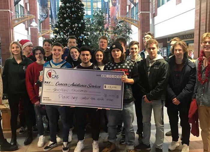 CTK students make a generous donation